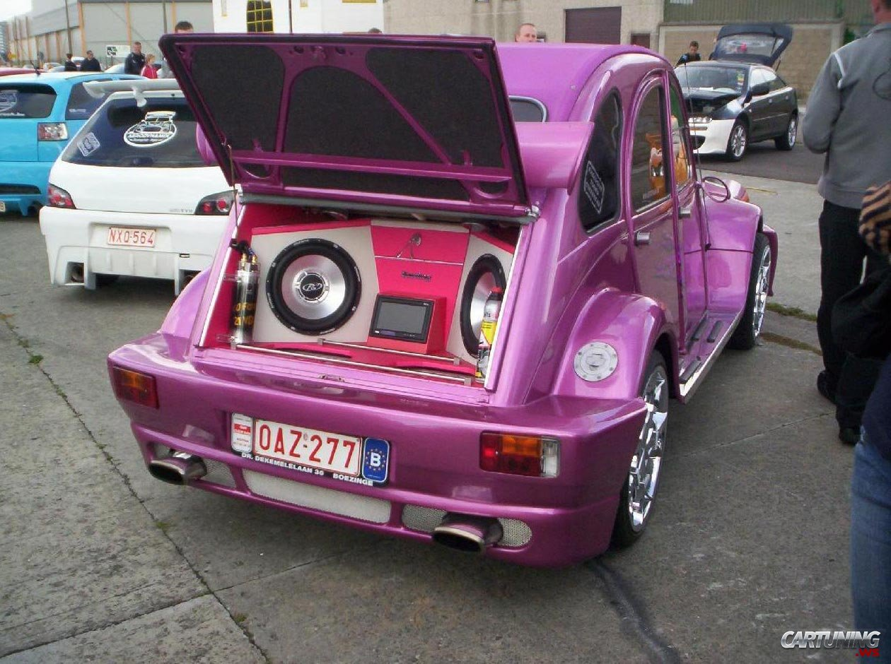 Tuning Citroen 2cv 187 Cartuning Best Car Tuning Photos
