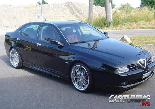 Tuning Alfa Romeo 166 187 Cartuning Best Car Tuning Photos