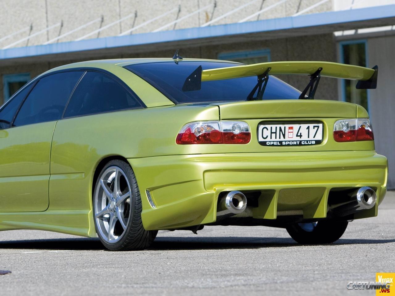 Tuning Opel Calibra 187 Cartuning Best Car Tuning Photos