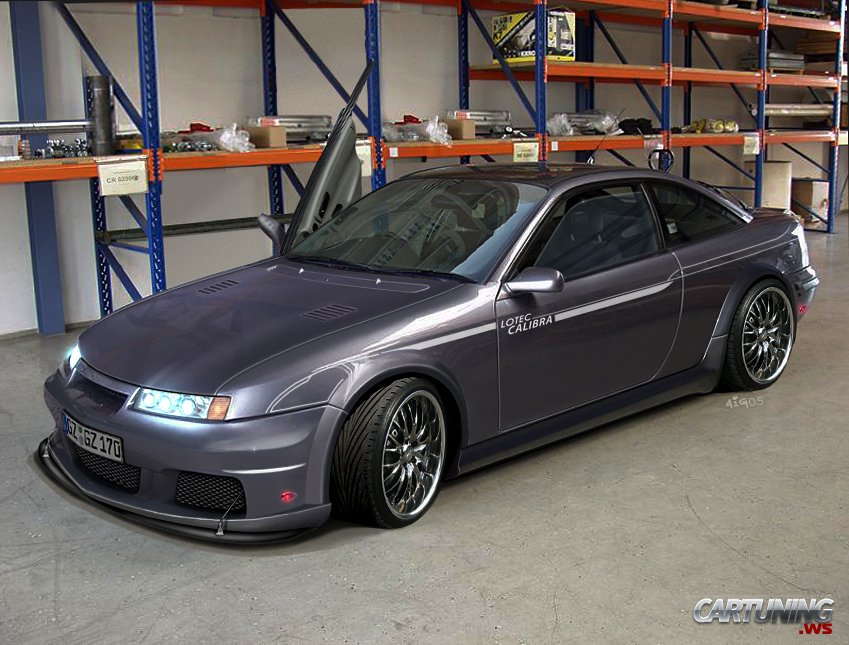 Tuning Opel Calibra 187 Cartuning Best Car Tuning Photos