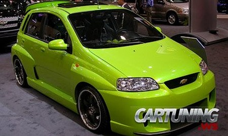 Chevrolet Aveo Cartuning Best Car Tuning Photos From All