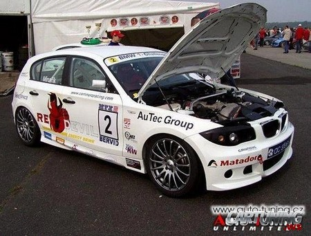 BMW 1 Race Car