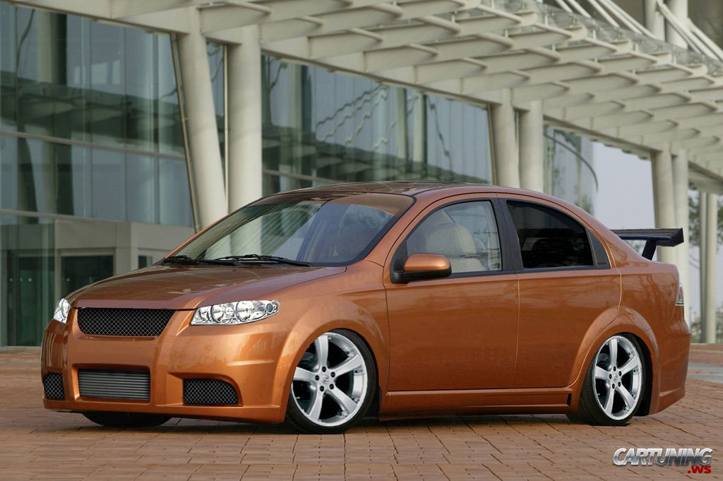 Tuning Chevrolet Aveo 187 Cartuning Best Car Tuning Photos