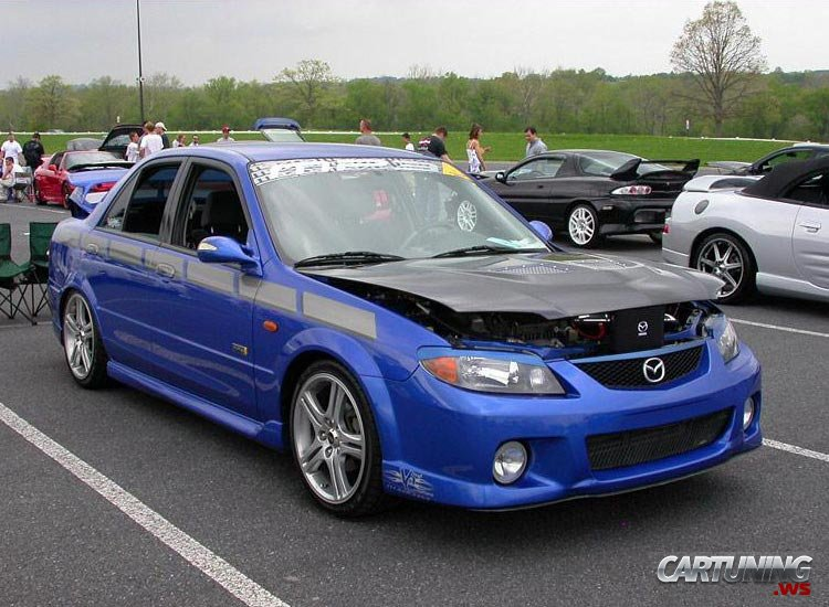 Tuning Mazda 323 187 Cartuning Best Car Tuning Photos From