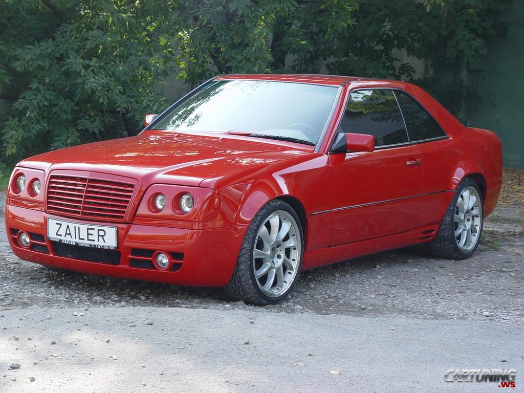 Tuning mercedes e class coupe w124 cartuning best car for Mercedes benz w124 tuning