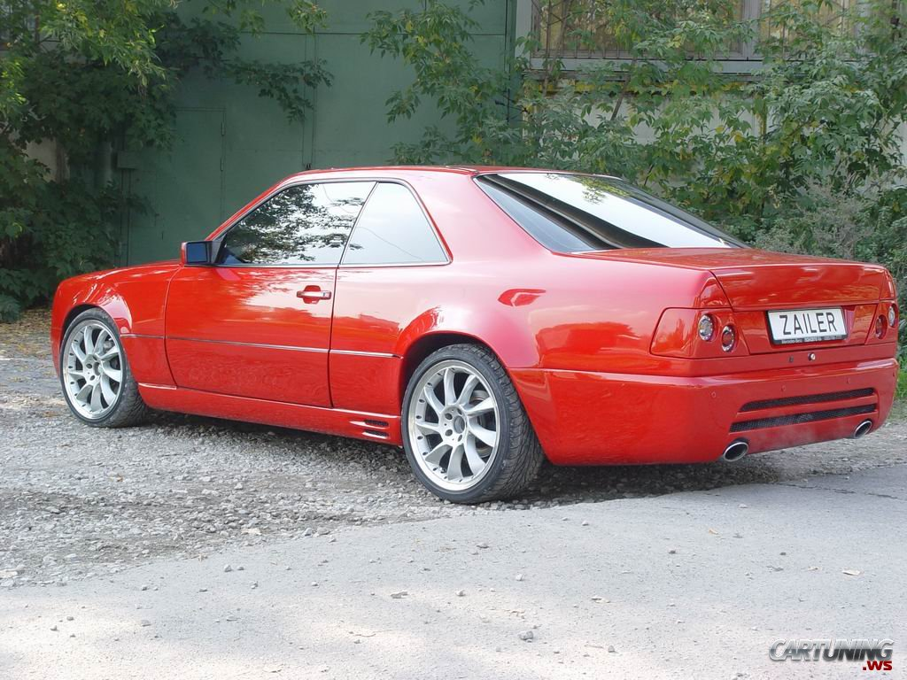 Tuning Mercedes E Class Coupe W124 187 Cartuning Best Car