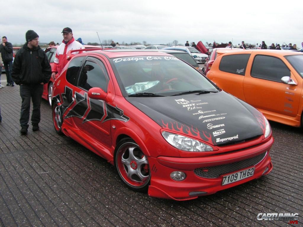 Tuning Peugeot 206 Cartuning Best Car Tuning Photos From All The World
