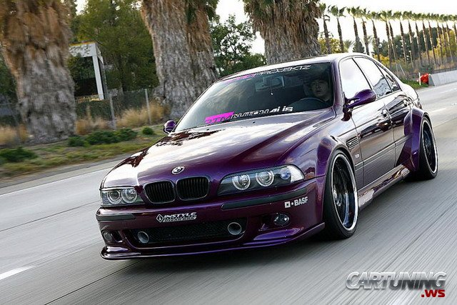 Tuning Bmw 5 E39 187 Cartuning Best Car Tuning Photos