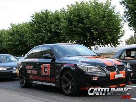 Bmw M5 E60 Race Car 187 Cartuning Best Car Tuning Photos From All The World