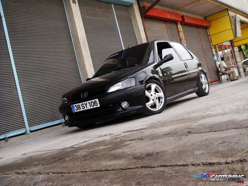 Tuning Peugeot 106 Gti Cartuning Best Car Tuning Photos From All The World