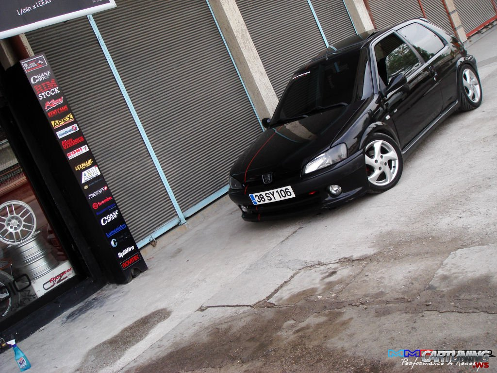 tuning peugeot 106 gti cartuning best car tuning. Black Bedroom Furniture Sets. Home Design Ideas