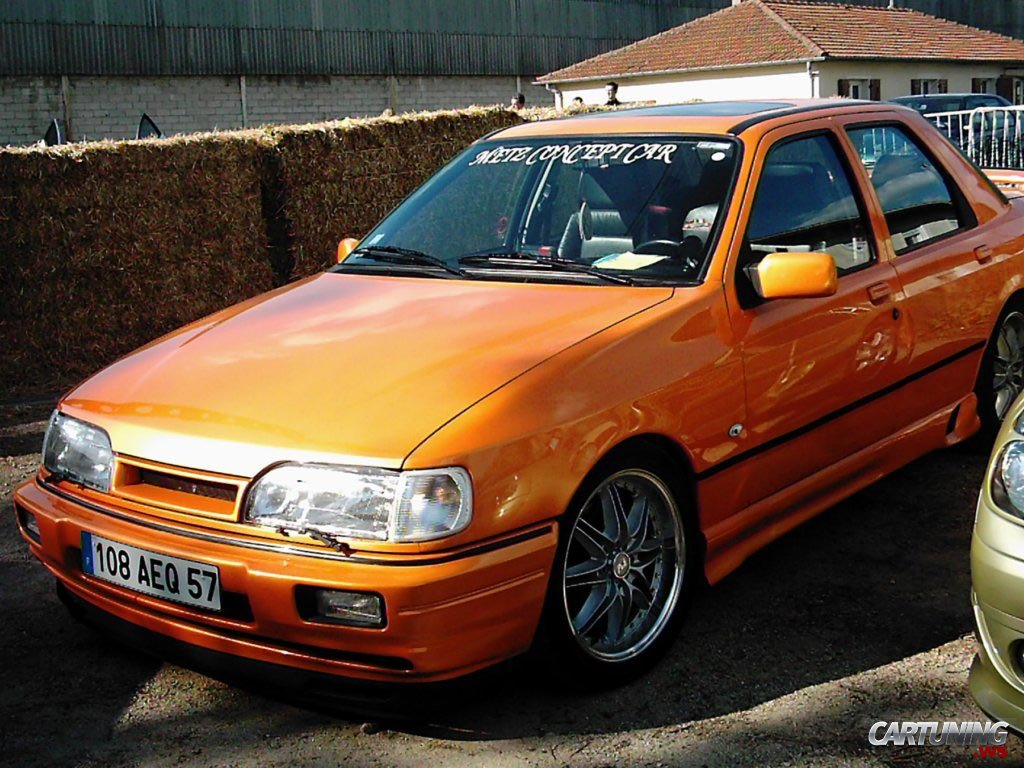 Tuning Ford Sierra 187 Cartuning Best Car Tuning Photos