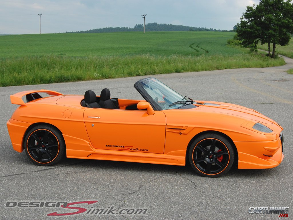 Volvo V70 Cabrio >> Tuning Fiat Barchetta » CarTuning - Best Car Tuning Photos From All The World