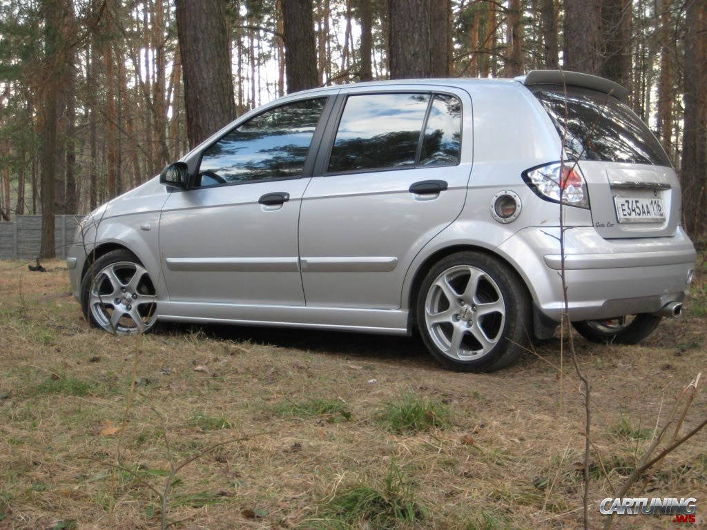 Tuning Hyundai Getz 187 Cartuning Best Car Tuning Photos