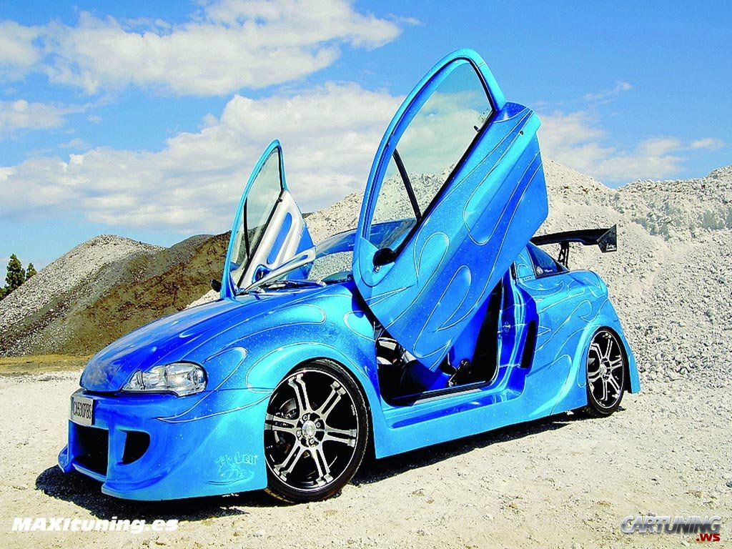 Tuning Opel Tigra 187 Cartuning Best Car Tuning Photos