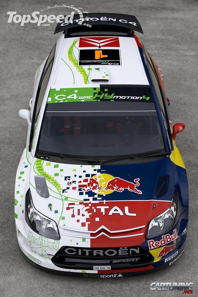Citroen C4 Wrc. Citroen C4 WRC