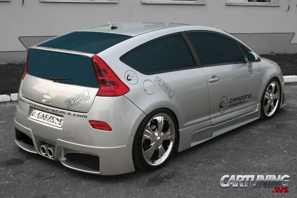 Tuning Citroen C4 187 Cartuning Best Car Tuning Photos From All The World