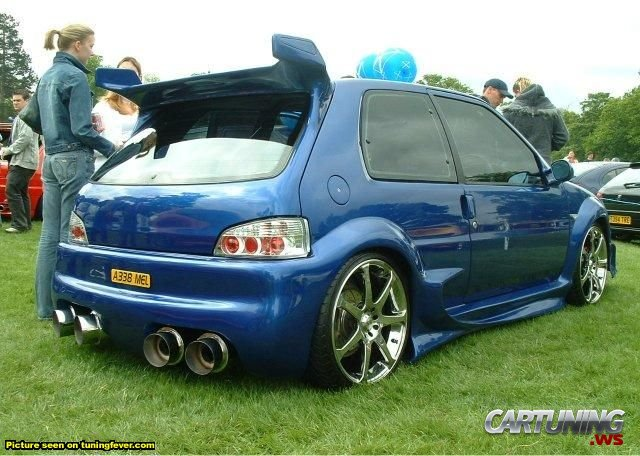 Tuning Citroen Saxo 187 Cartuning Best Car Tuning Photos