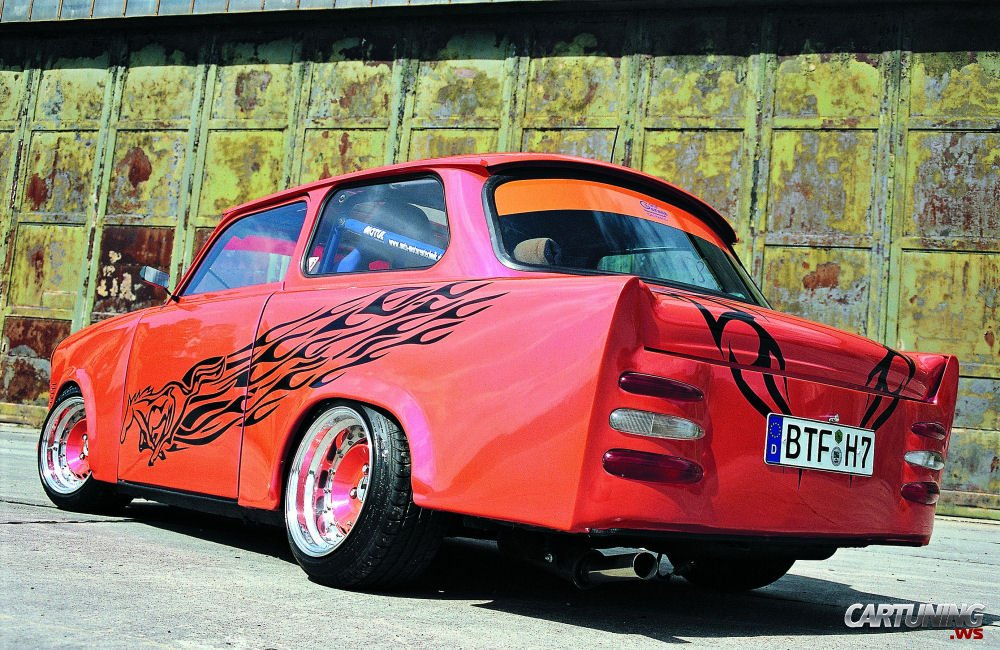 tuning trabant 601 cartuning best car tuning photos. Black Bedroom Furniture Sets. Home Design Ideas