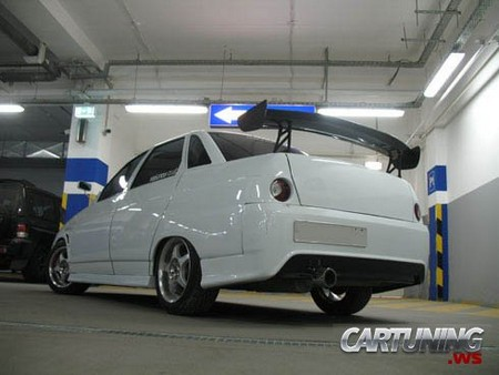 Тюнинг ВАЗ 2110 187 Cartuning Best Car Tuning Photos From