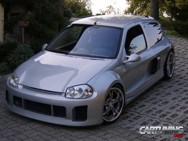 Volvo V70 Cabrio >> Tuning Renault Clio V6 » CarTuning - Best Car Tuning Photos From All The World