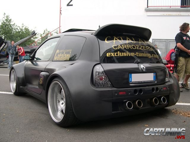 tuning renault clio v6 cartuning best car tuning photos from all the world. Black Bedroom Furniture Sets. Home Design Ideas