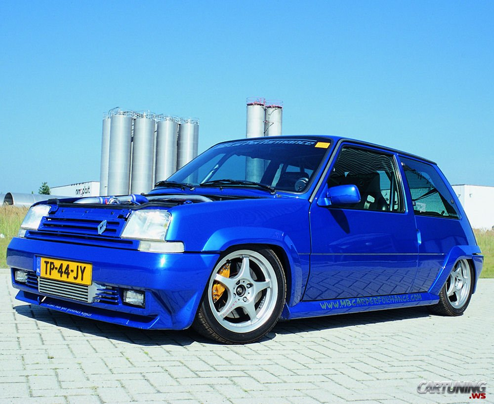 Tuning Renault 5 187 Cartuning Best Car Tuning Photos From