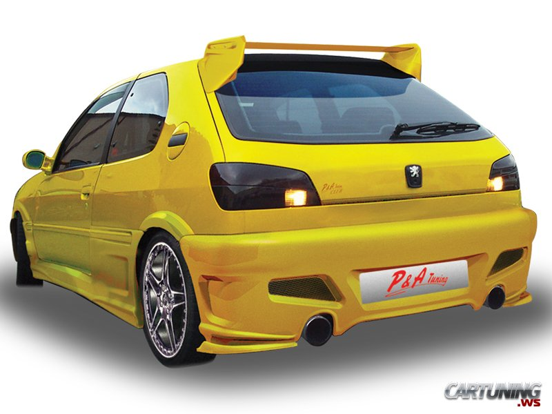 Tuning Peugeot 306 187 Cartuning Best Car Tuning Photos