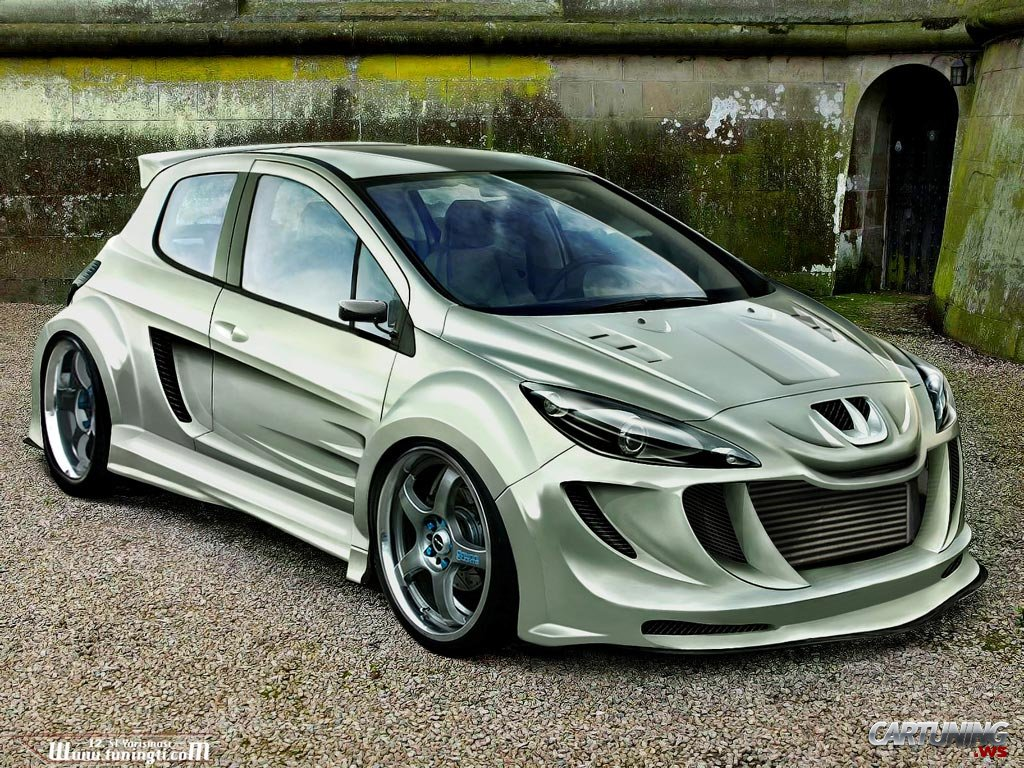 Tuning Peugeot 308 » CarTuning