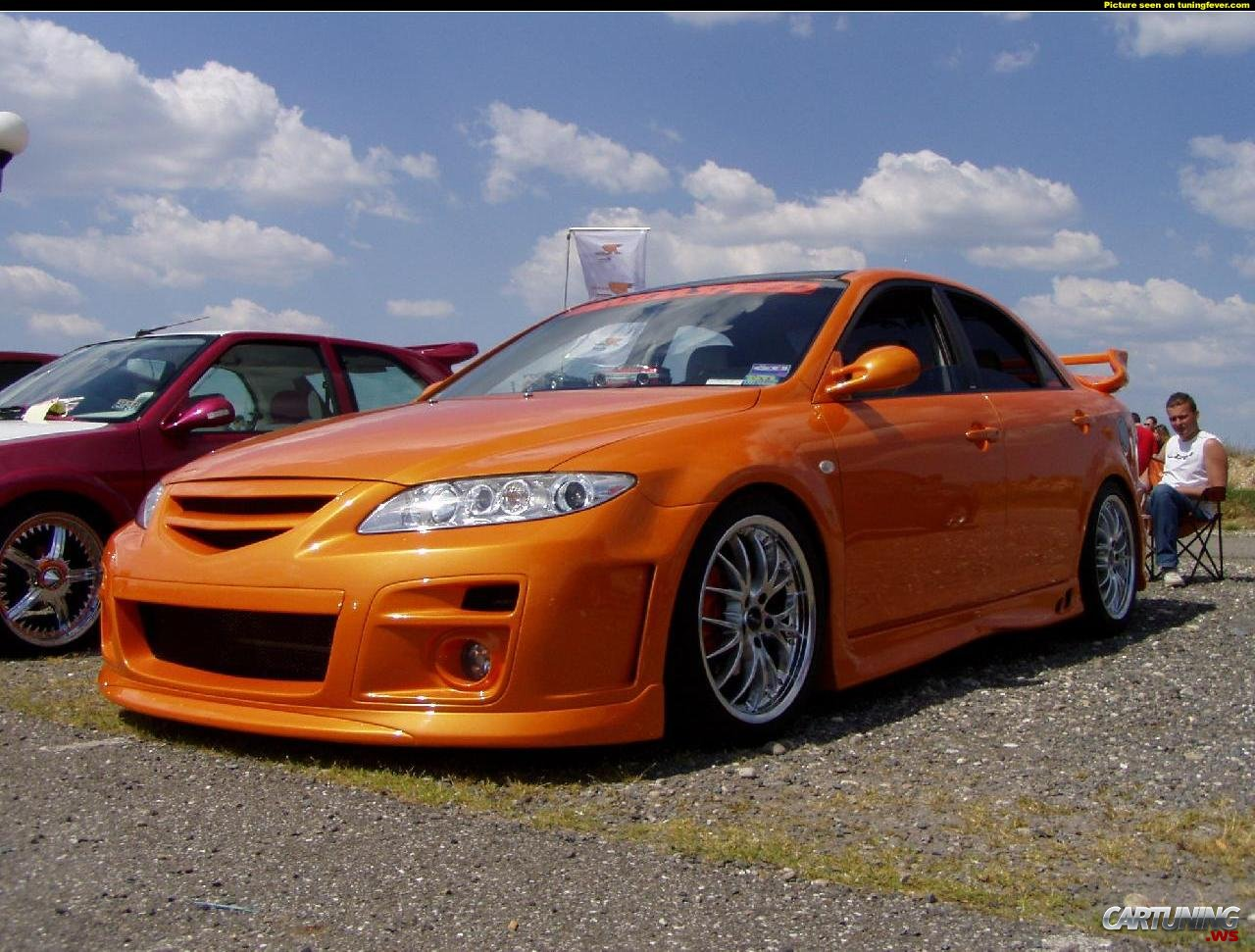 Mazda Mx3 2016 >> Tuning Mazda 6 » CarTuning - Best Car Tuning Photos From ...