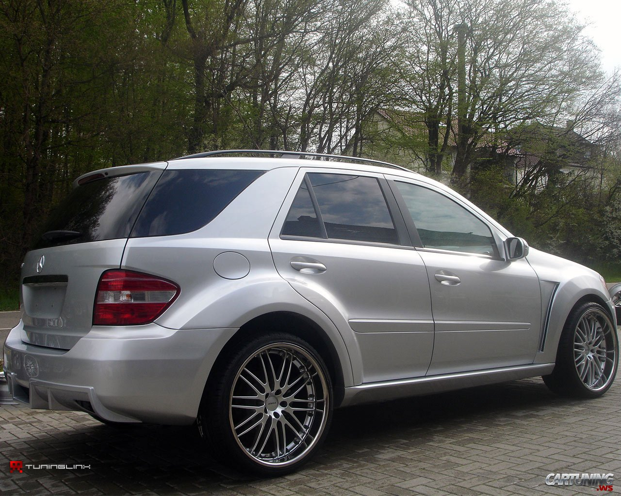 Tuning mercedes benz ml class cartuning best car for Mercedes benz tuning