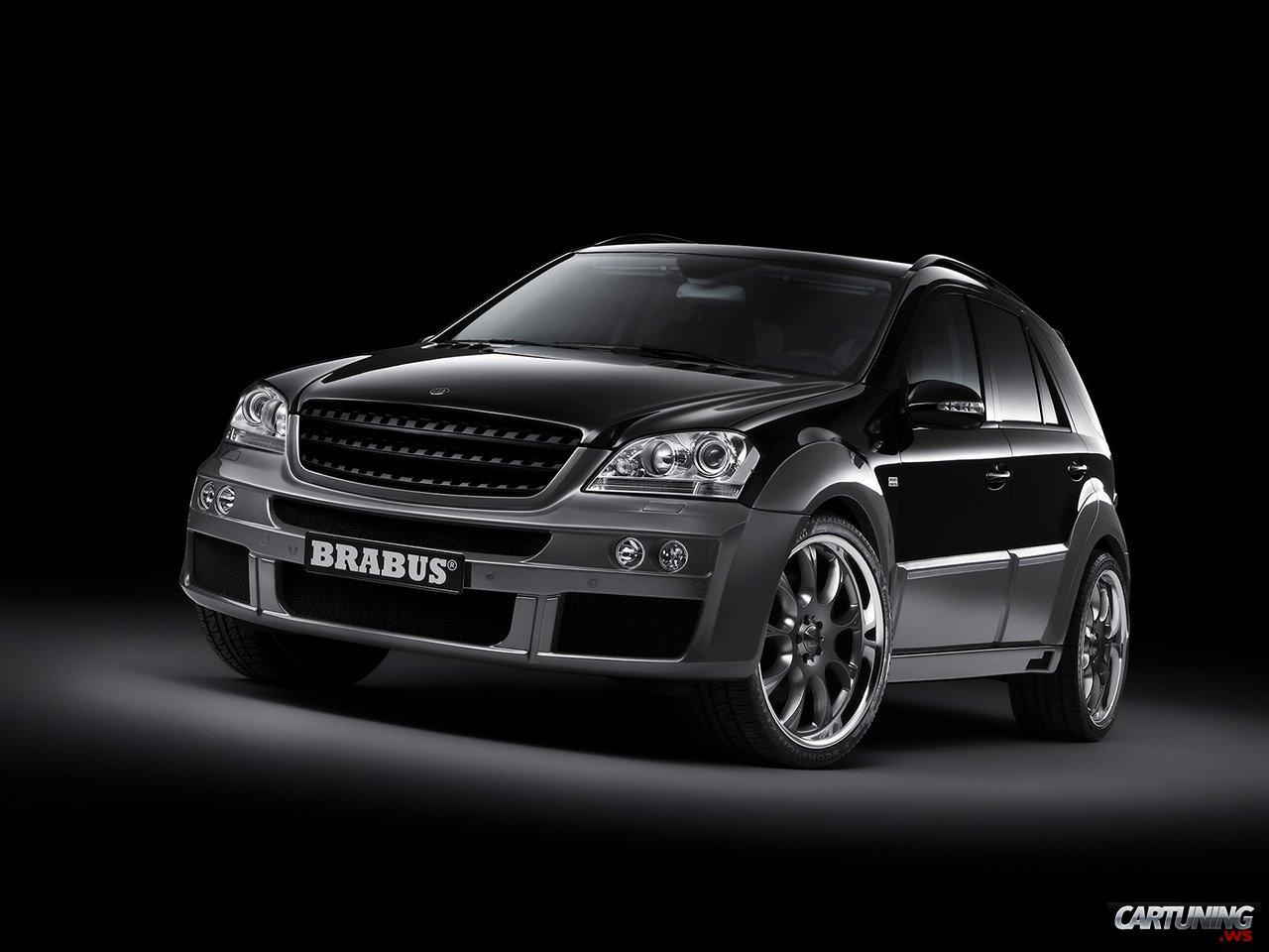 tuning mercedes benz ml 63 brabus cartuning best car. Black Bedroom Furniture Sets. Home Design Ideas