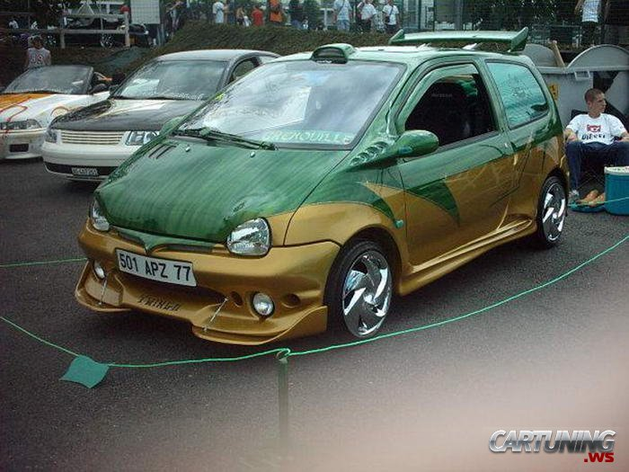 Tuning Renault Twingo 187 Cartuning Best Car Tuning Photos From All The World