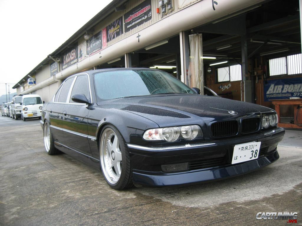 Tuning Bmw 750i E38 187 Cartuning Best Car Tuning Photos