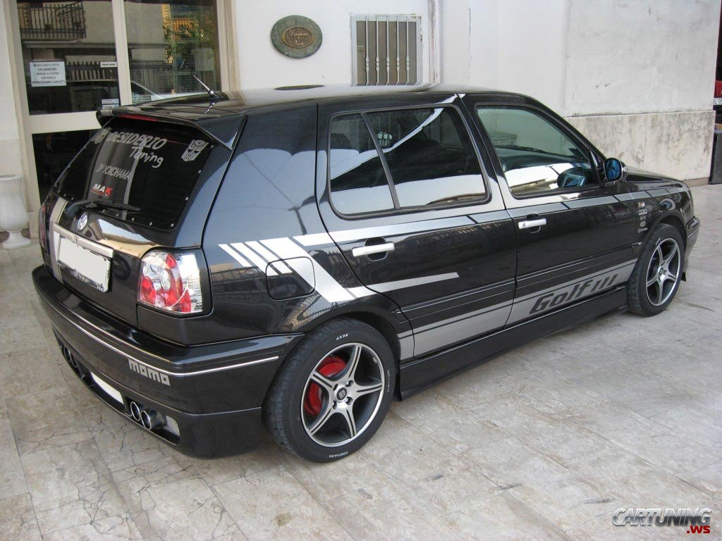 Tuning Volkswagen Golf Mk3 187 Cartuning Best Car Tuning