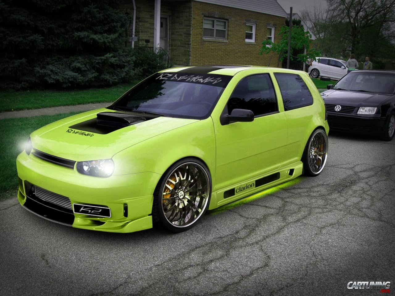 Tuning Volkswagen Golf Mk4 187 Cartuning Best Car Tuning