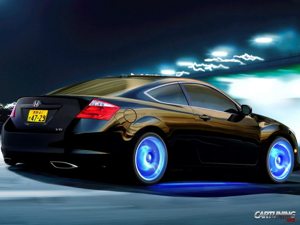 Tuning Honda Accord Coupe 187 Cartuning Best Car Tuning
