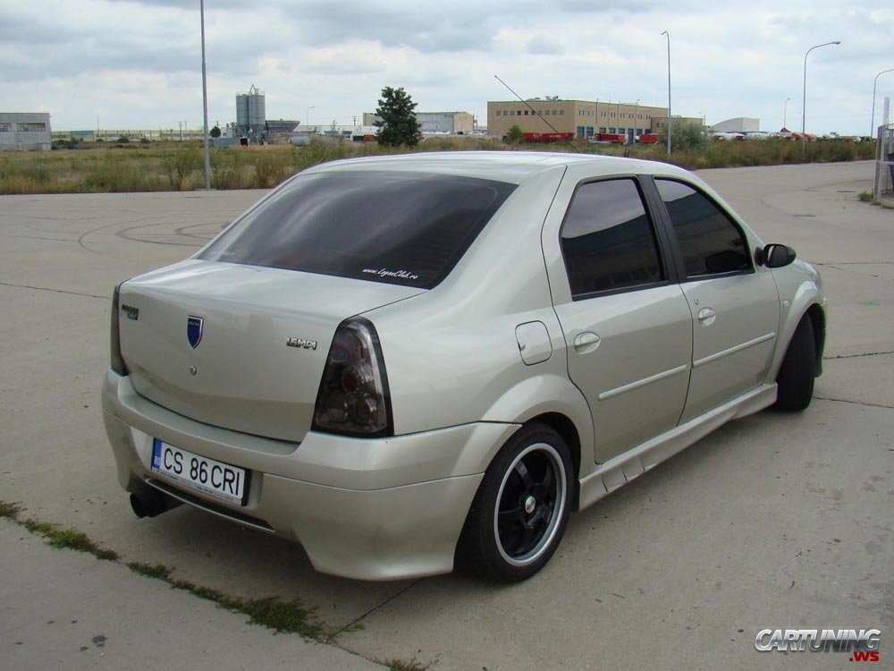 Tuning Renault Dacia Logan 187 Cartuning Best Car Tuning