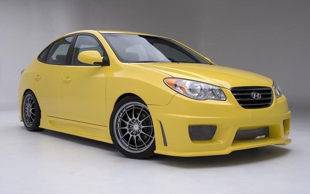 Tuning Hyundai Elantra Cartuning Best Car Tuning Photos