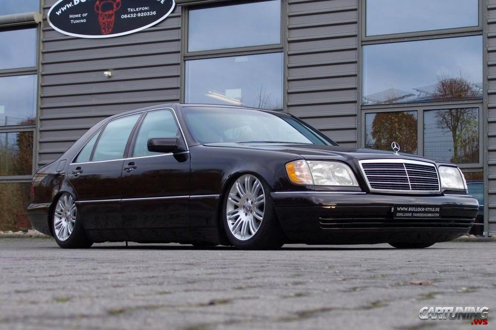 Tuning mercedes benz s420 w140 for Mercedes benz tuning