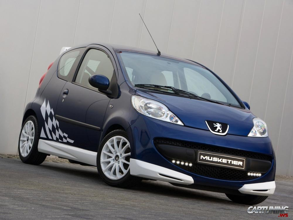 Tuning peugeot 107 by musketier