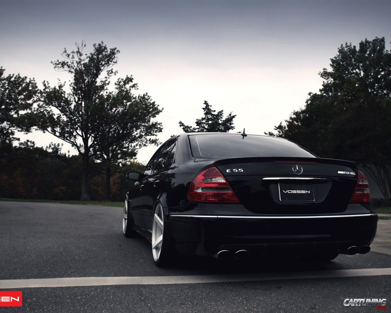 Mercedes Benz E55 Amg W211 By Vossen