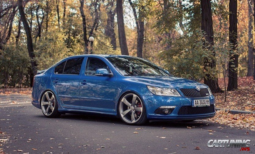 Tuning Skoda Octavia Rs From Kyiv Ukraine
