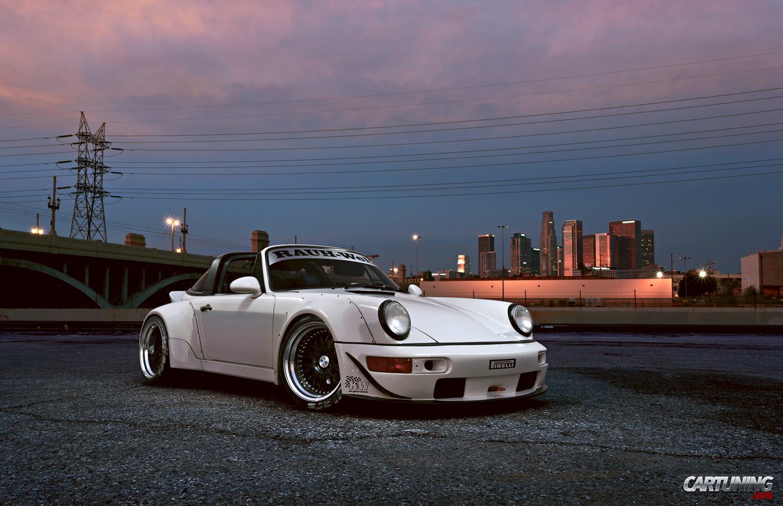 Tuning Porsche 911 Targa By Rauh Welt Rwb Japan