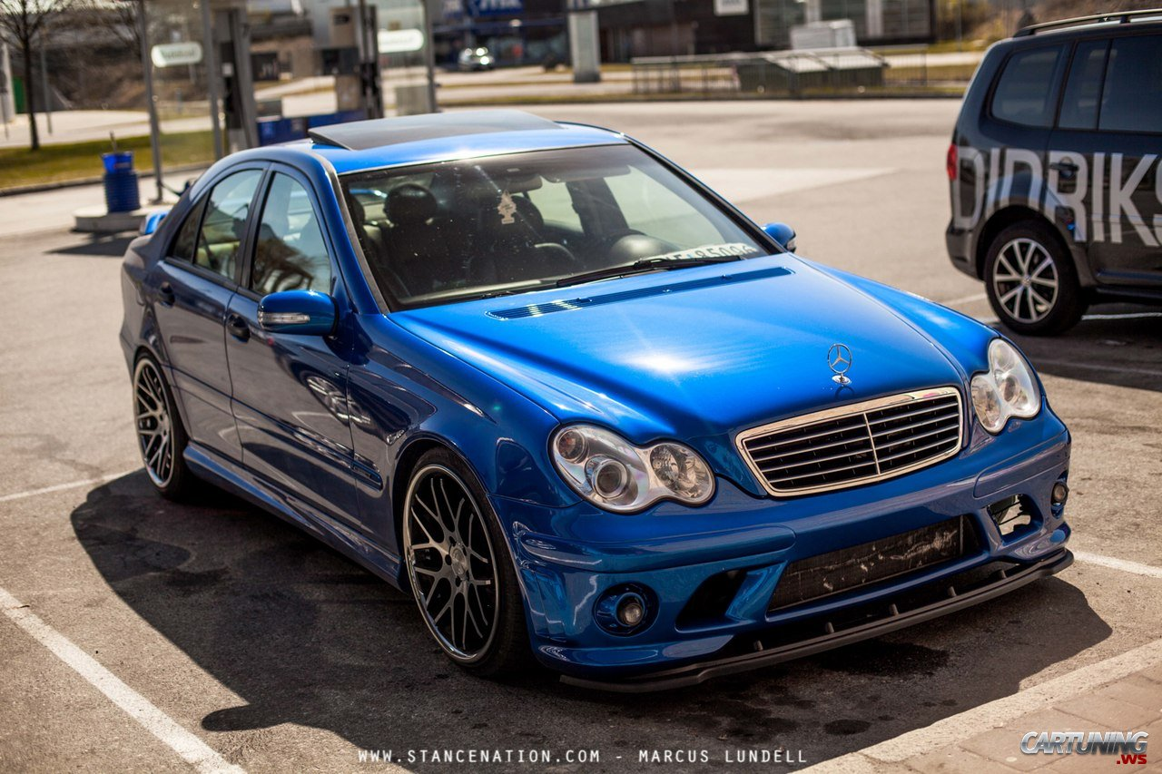 Tuning Mercedes-Benz С-Class W203