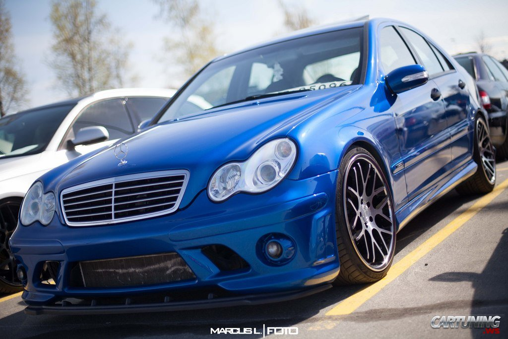 Tuning Mercedes Benz С Class W203