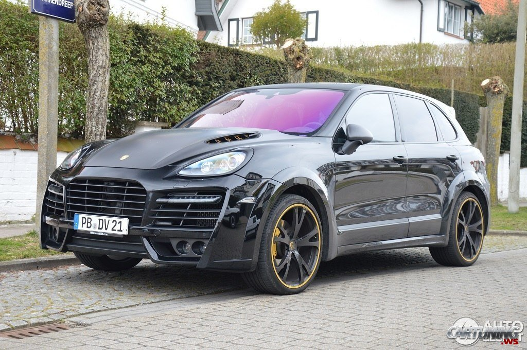 Porsche Cayenne By Techart Magnum