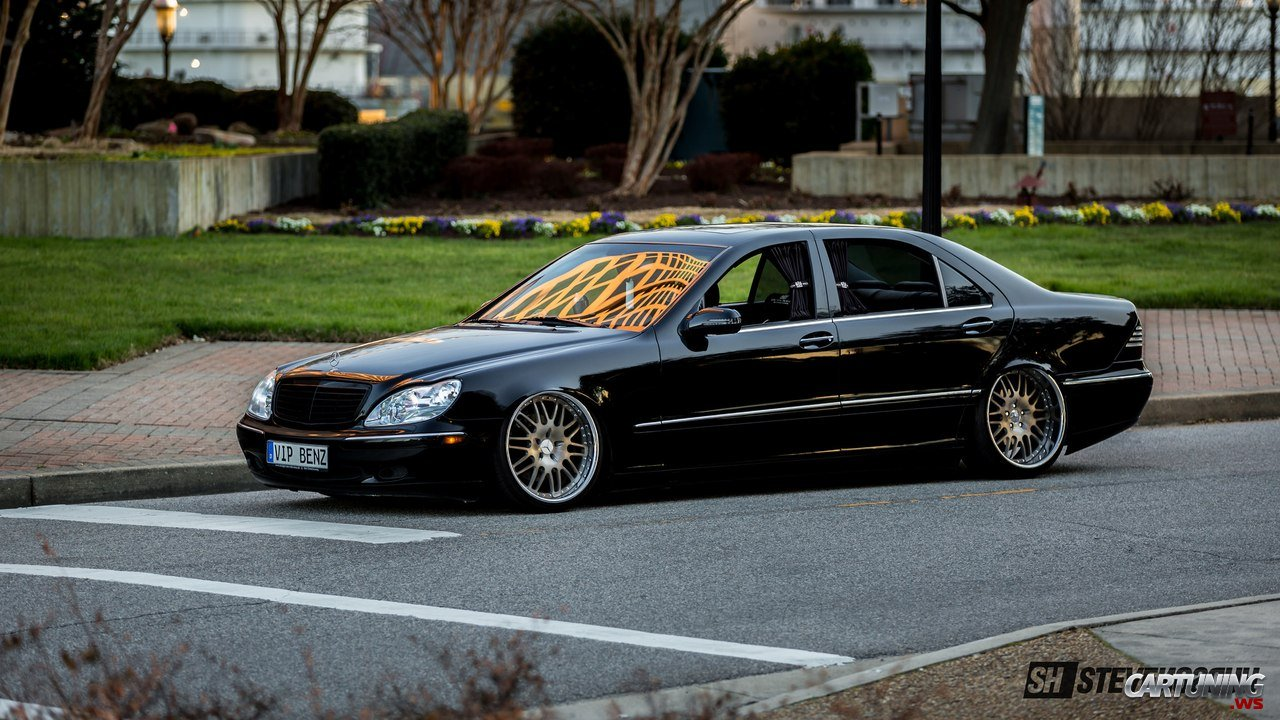 Tuning Mercedes Benz S600 W220