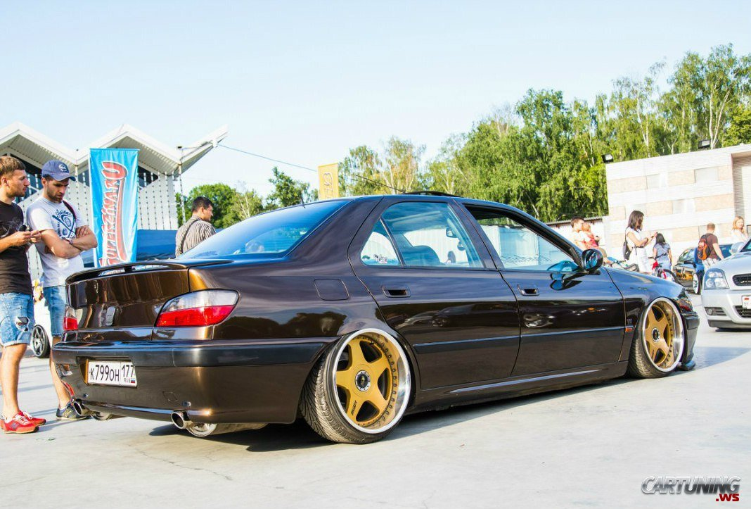 2898 Tuning Peugeot 406 on mk1 cabriolet