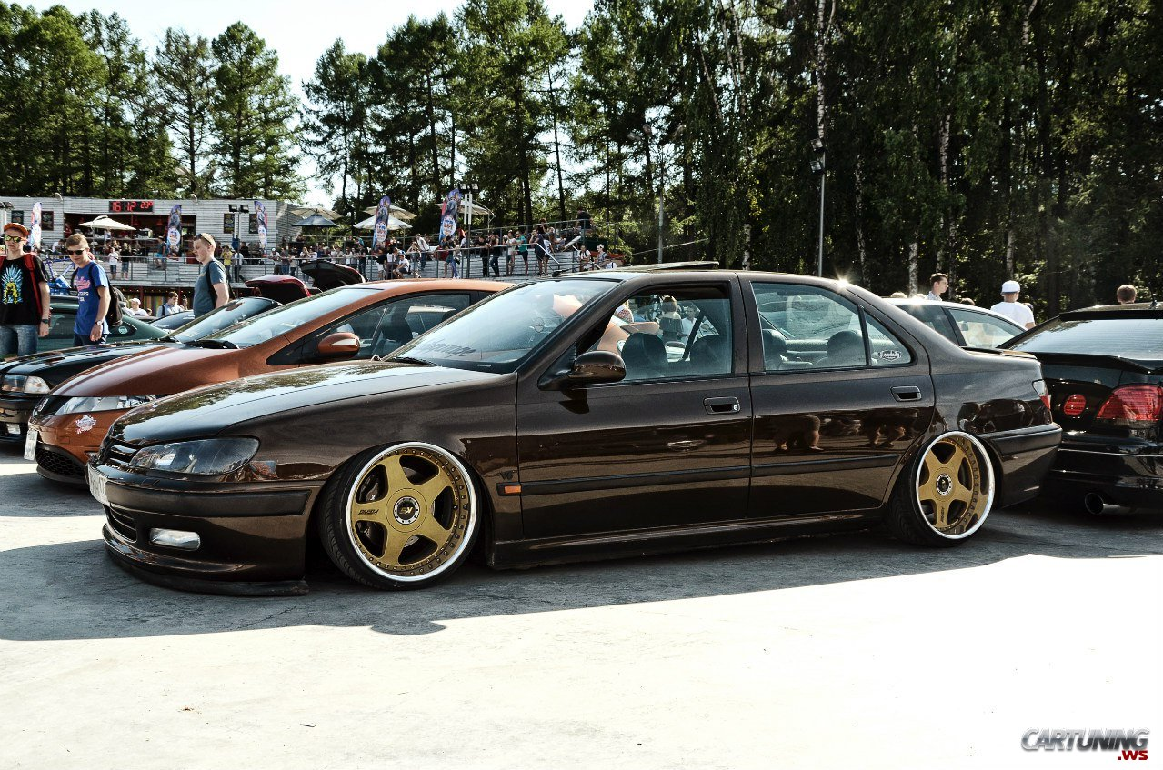 Low Peugeot 406 From Moscow Russia True Fitment